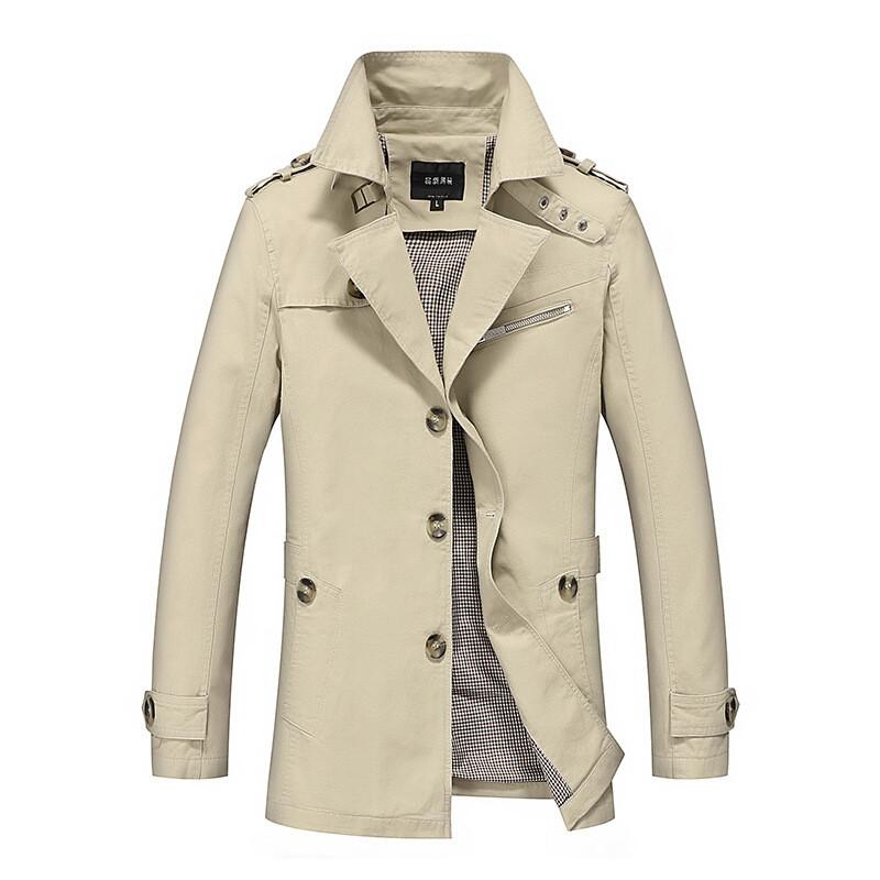 冬季新款男士加绒加厚纯棉衣服袄青年大码夹克冬天外套潮l5 3xl 翻领