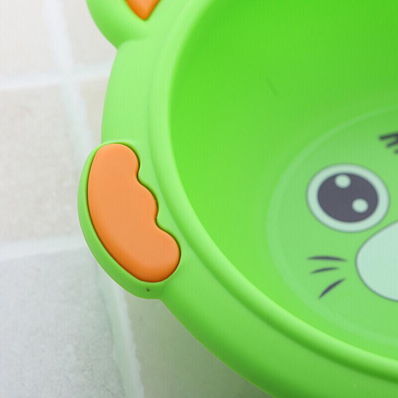 卡通动物老虎脸盆塑料小号儿童宝宝新生婴儿可爱pp洗脸盆子