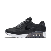 耐克(NIKE)AIR MAX 90 ULTRA ESSENTIAL女子复古跑鞋板鞋724981-007 黑色 6.5/37.5码
