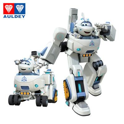 奧迪雙鉆(AULDEY)超級飛俠 拼裝組裝變形機器人套裝塑料動漫玩具-米莉 工具車 載具系列 3歲以上