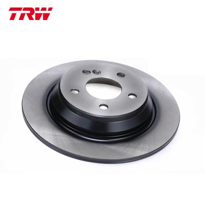 天合(TRW)前剎車盤DF4343適用于路虎發現者3 2.7 4.4