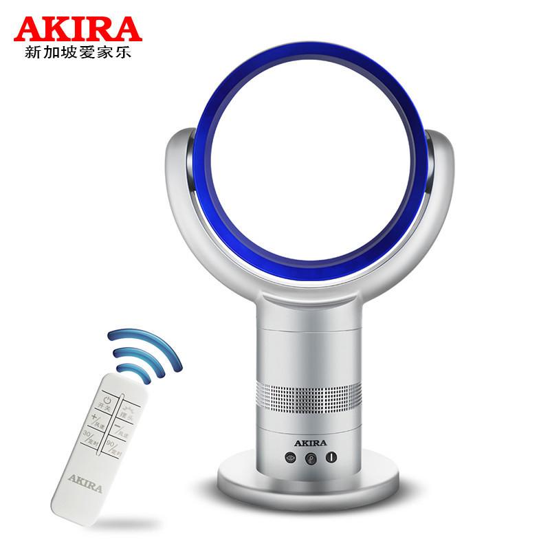 爱家乐(AKIRA)电风扇 AX100/SG 无叶风扇 家用空气循环扇 台式风扇 台扇
