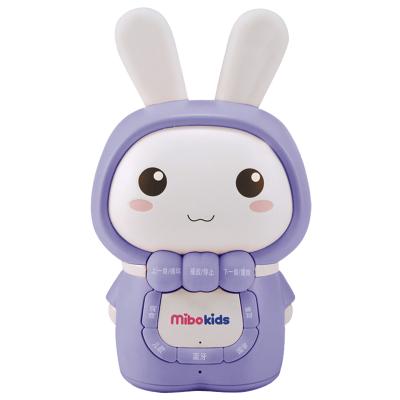 米宝兔(mibokids) 儿童早教故事机 MB06A 哑光蓝 宝宝胎教 0-8岁 音乐 益智玩具儿歌播放器婴儿早教机
