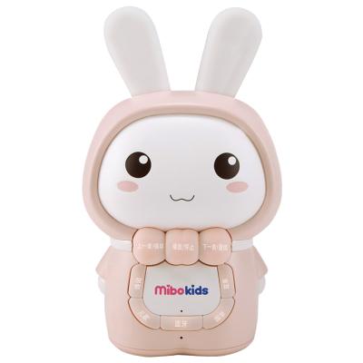 米宝兔(mibokids) 儿童早教故事机 MB06A 哑光粉 宝宝胎教 0-8岁 音乐 益智玩具儿歌播放器婴儿早教机