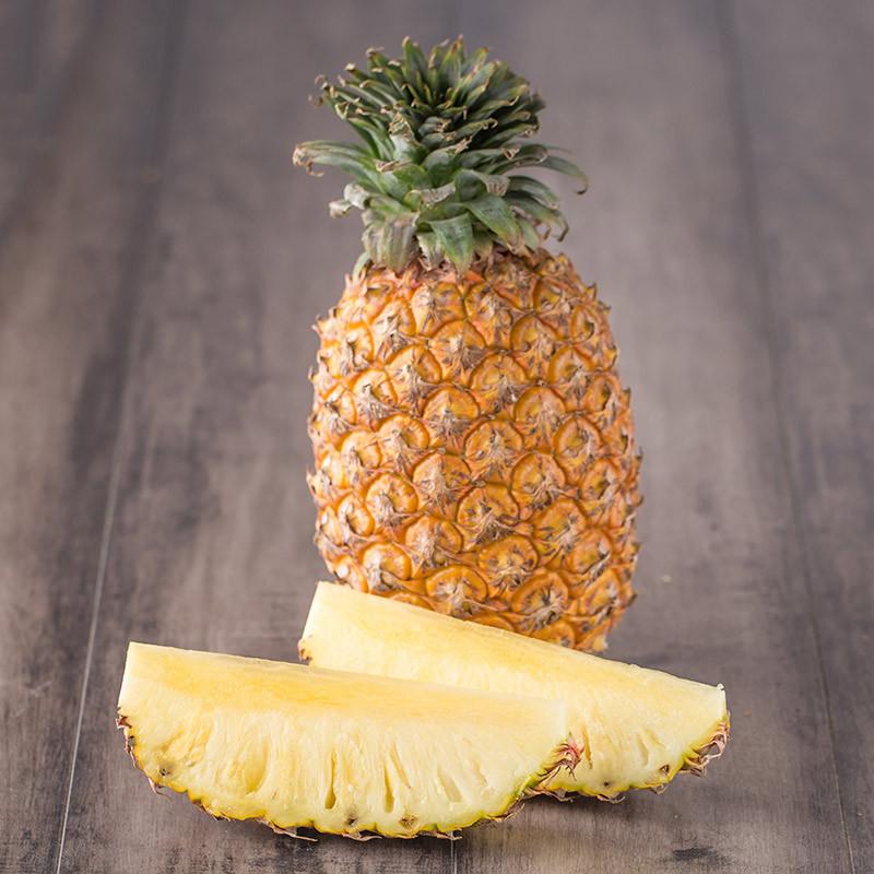 【苏宁生鲜】台湾金钻凤梨树上熟1个 菠萝 新鲜水果