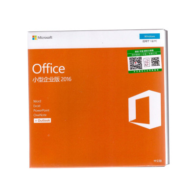 微软Office2016小型企业版中文彩包 office 2016 For windows PC版 office办公软件