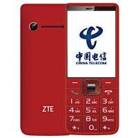 ZTE/中兴 CCV19 天翼电信2G手机 CDMA手机(红色)