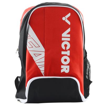 威克多胜利羽毛球拍包 双肩包 运动背包休闲背包网羽拍包 威克多BR-5003红色