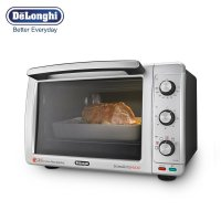 意大利德龙(DeLonghi) 电烤箱EO32852(32升大容量烤箱,风扇对流式烘烤,加热更均匀)