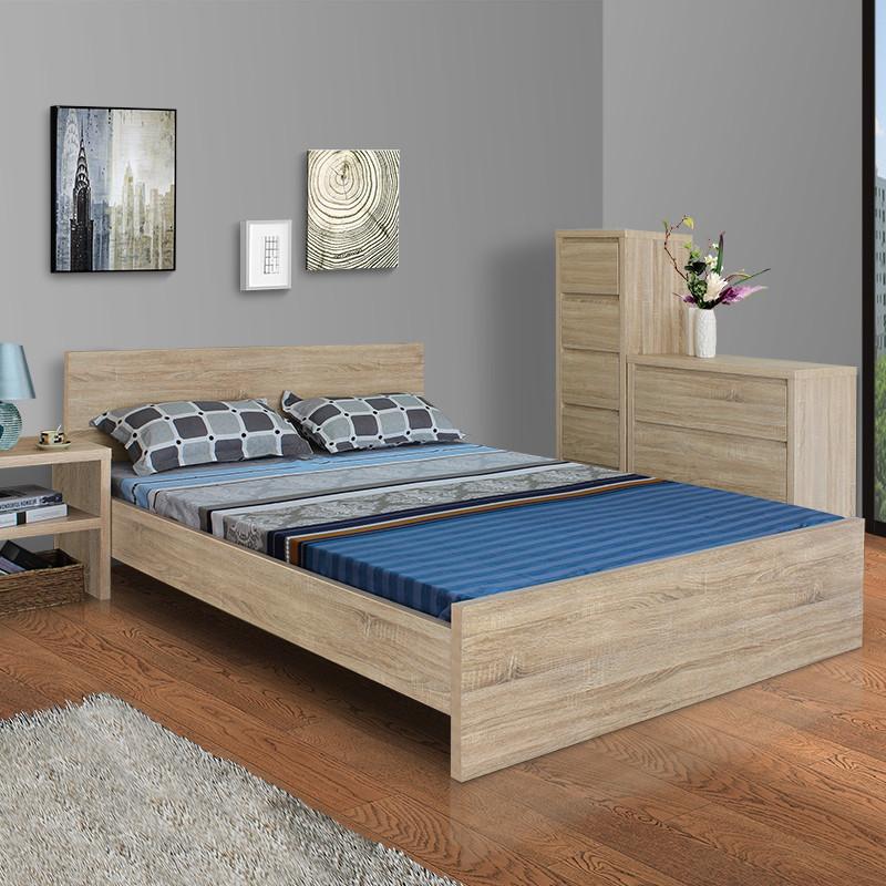 5米大床架欧式简约现代卧室家具tp2375