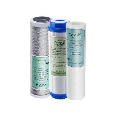 安之星AZX-08UF-C3+2B五級凈水器專用濾芯前三級套裝第1至第3級