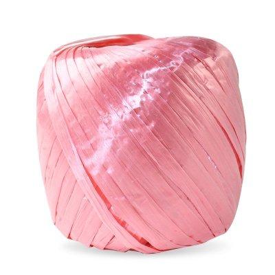 谋福 塑料撕裂绳 打包捆扎绳包装绳 塑料绳捆绑绳 捆扎带 尼龙绳 1只粉色