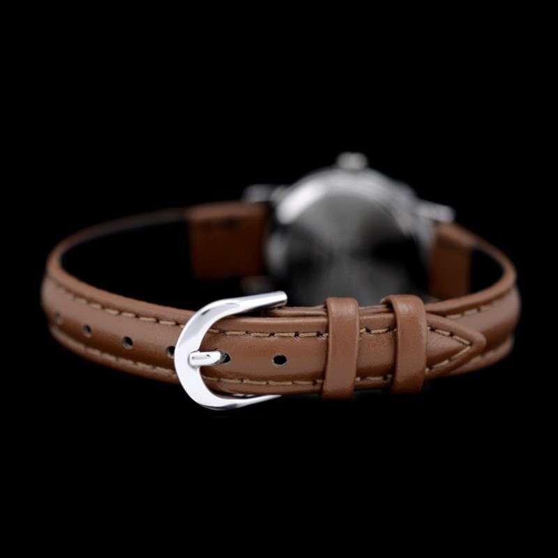 卡西欧(casio))手表石英皮带白色表盘小巧精致女士手表ltp-1095e-7b