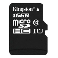 金士顿(Kingston)16G Class10 UHS-I TF(MicroSD)存储卡手机内存卡 TF卡 上海金童
