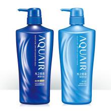 资生堂水之密语净澄水活洗发水护发素组合套装600ml*2洗头水组合控油型凝润水护滋养柔顺