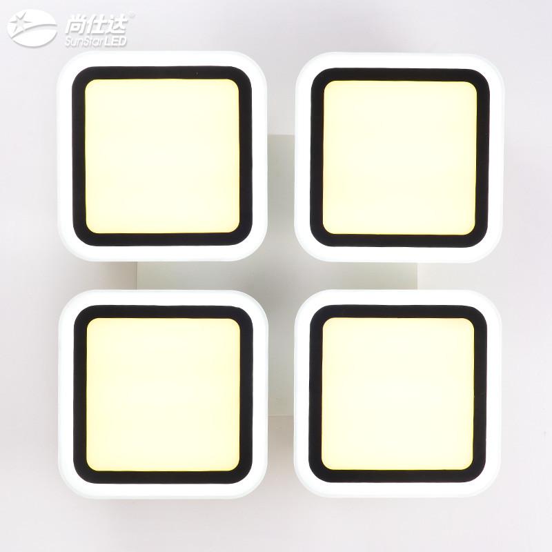 led吸顶灯客厅灯现代简约大气长方形卧室灯具创意餐厅