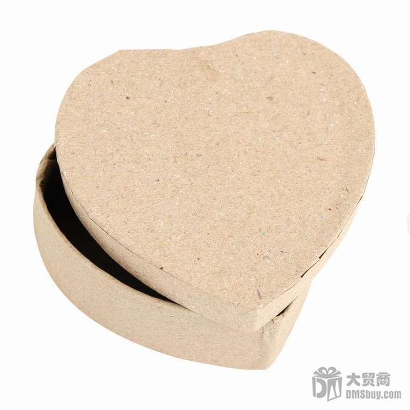 dms大贸商 diy手工制作 白坯上色 彩绘 盒子 椭圆和方形 6个 -ef00580