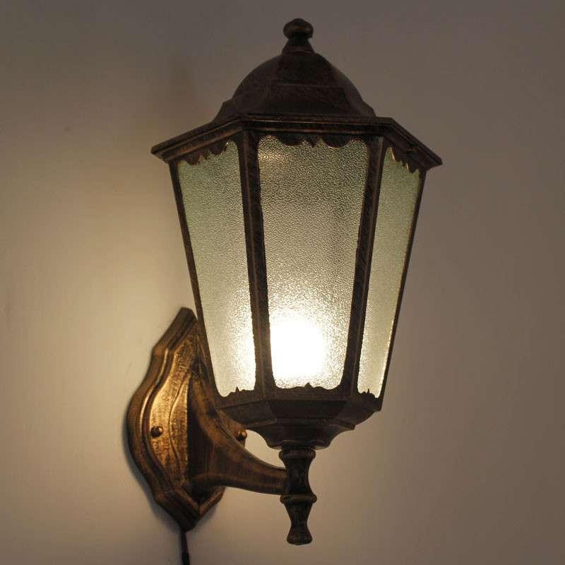 欧式花园别墅欧式户外灯壁灯复古城堡室外花园过道ry