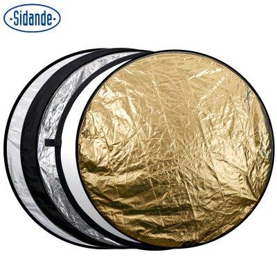 斯丹德 110cm五合一反光板 折叠柔光板 便携反光伞 摄影 棚挡光板