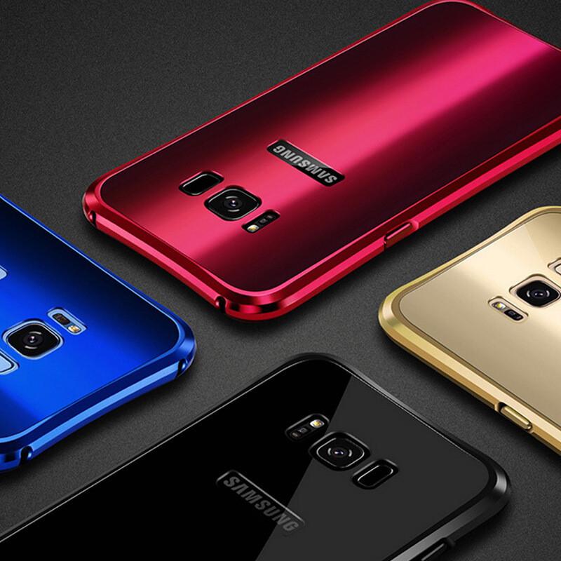 三星s8手机壳/s8 保护套手机壳保护套外壳金属硬壳边框加背板全包防