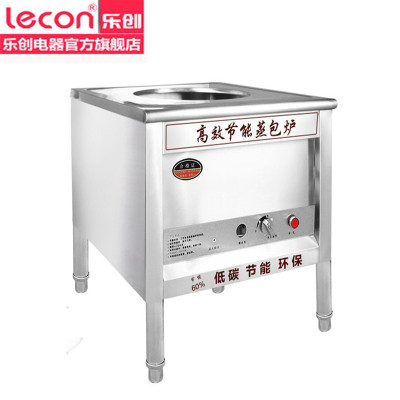 樂創電器旗艦店/lecon 商用蒸包爐燃氣 包子機蒸汽爐節能蒸爐蒸包機小籠包機饅頭機