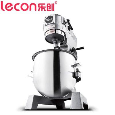 樂創電器旗艦店(lecon)B10-B 商用打蛋/攪拌機10升和面機料理機