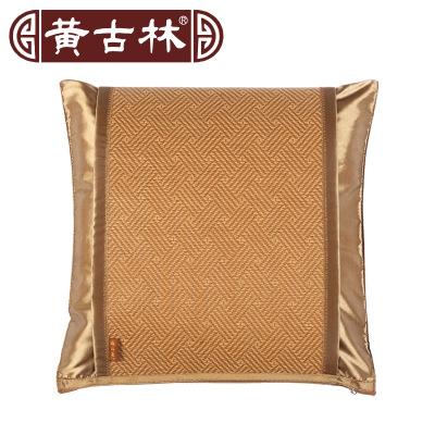 黃古林古藤靠墊套子不含芯60 60沙發夏季中式涼席床頭定做抱枕套