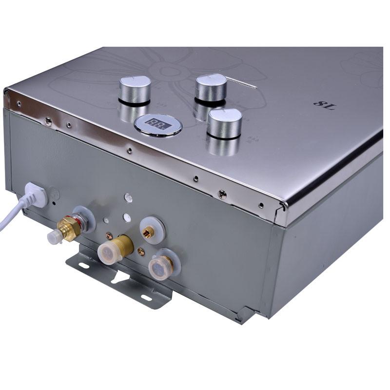 奇田(qitian) 燃气热水器 jsg16-8a金钢无氧铜 8升平衡式燃气热水器图片