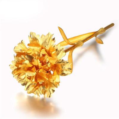 佰黛 生日礼物女生送女友朋友老婆情人节浪漫创意特别的礼品金箔玫瑰花