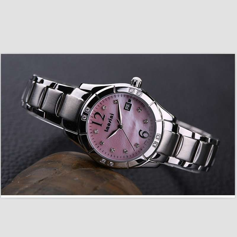 劳斯特手表_正品劳斯尼手表女表时尚镶钻女款时尚潮流石英手表女lsn-3006d-4a