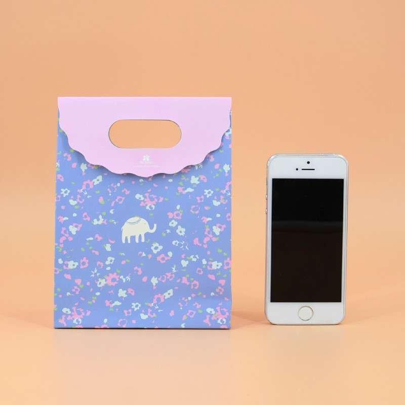 小清新动物文件袋 礼品袋手提纸袋 礼物袋现货可爱购物袋 包装袋