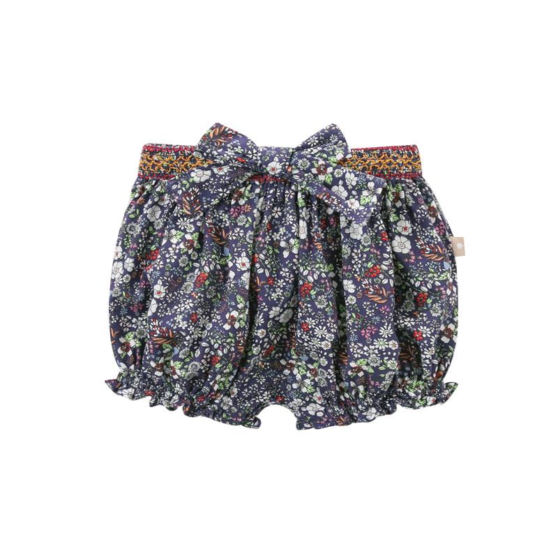 davebella戴维贝拉 女童2017夏装新款短裤 女宝
