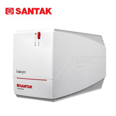 山特UPS不间断电源 K1000-PRO1000VA/600W 单台电脑可延50分钟