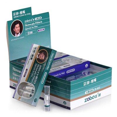 zobo正牌煙嘴 一次性拋棄型煙具 三重過濾型煙嘴 120支