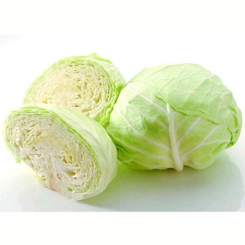 七果果 卷心菜 2斤 包菜 新鲜蔬菜 as