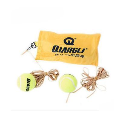 強力 簡裝三用網球 網球 兩球三皮筋 單人訓練用球 初學者用球 5205