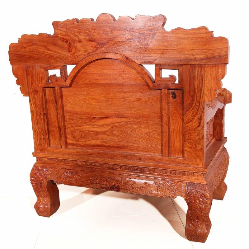 吕可可实木沙发组合红木沙发东阳明清古典红木家具中式沙发非洲花梨木