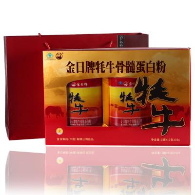 金日牌牦牛骨髓蛋白质粉300gx2罐中老年礼品礼物