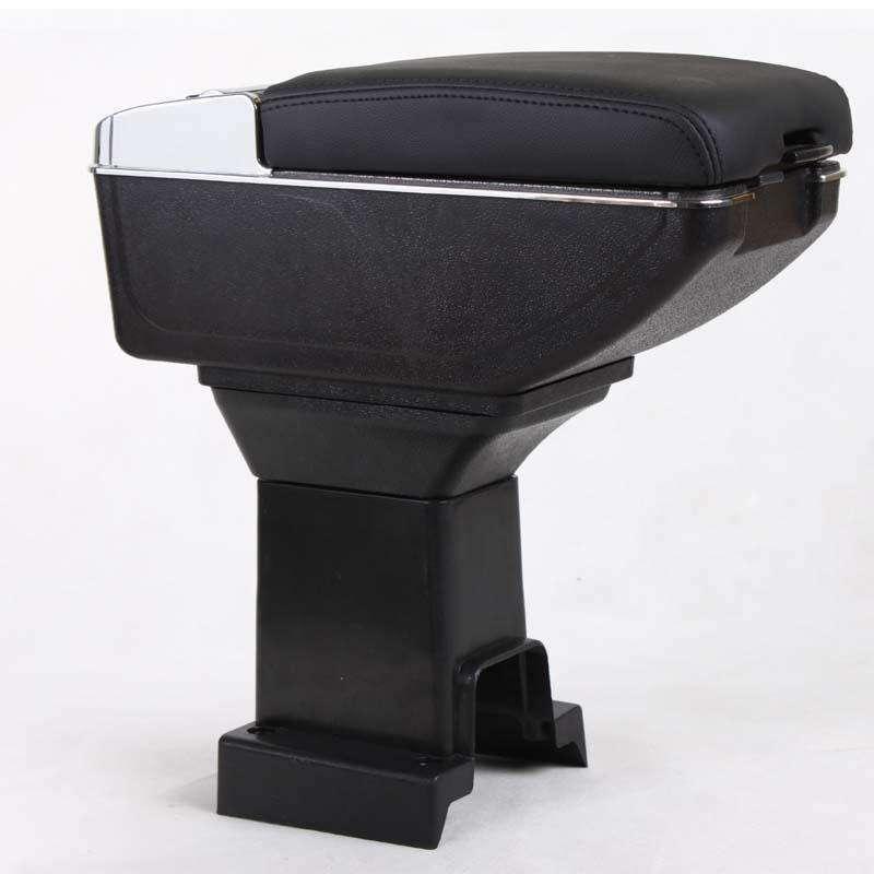 本田思域 飞度专用新六代升级改装汽车扶手箱 黑色 米色 灰色