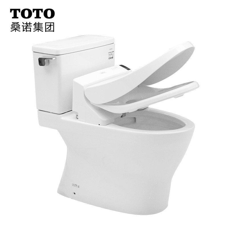 toto卫浴智能马桶盖板卫洗丽 智能马桶坐便器新款智能