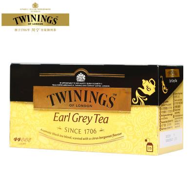Twinings/英國川寧豪門伯爵紅茶50g/盒 25袋裝 進口紅茶 袋泡茶包 沖飲類 10768
