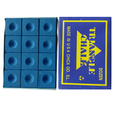 通用臺球桿巧克粉 桌球桿巧粉 槍粉 擦粉 巧克粉 1盒12粒