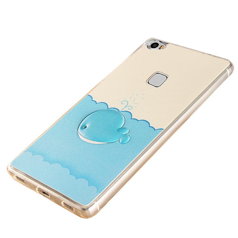 步步高x6a手机套 x6l手机保护套3d立体浮雕可爱彩绘x6d手机外壳全包边