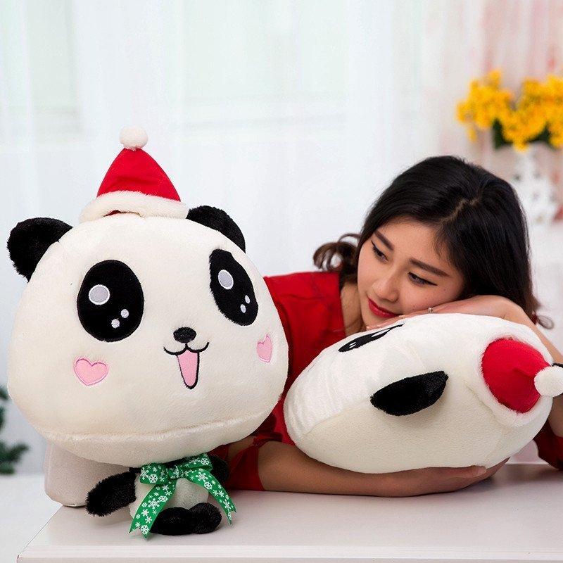 悦达 大号熊猫公仔手抱竹子熊猫宝宝毛绒玩具小熊熊玩偶儿童女生日