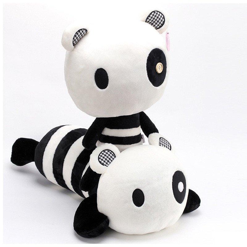 悦达 甜心派黑糯大熊猫公仔卡通熊猫抱枕靠垫玩偶毛绒