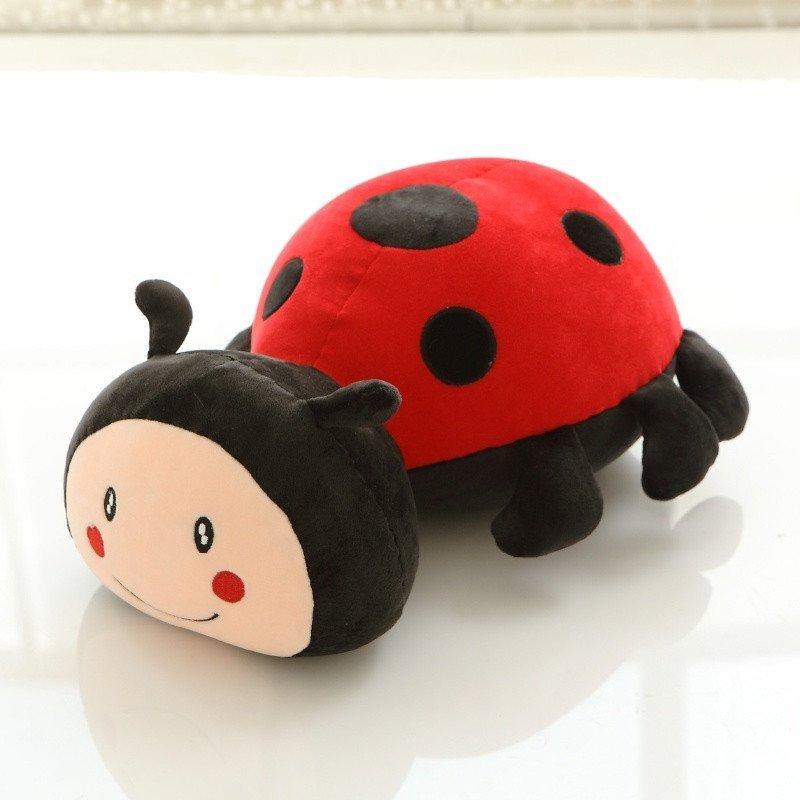 悦达 创意卡通可爱瓢虫玩偶布偶布娃娃毛绒玩具公仔儿童生日礼物女生