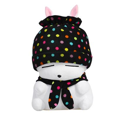流氓兔公仔毛绒玩具大白兔子抱枕布娃娃玩偶可爱