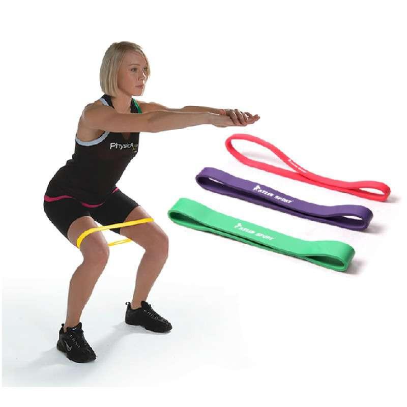 骐骏 健身房力量训练乳胶阻力带 田径训练器材