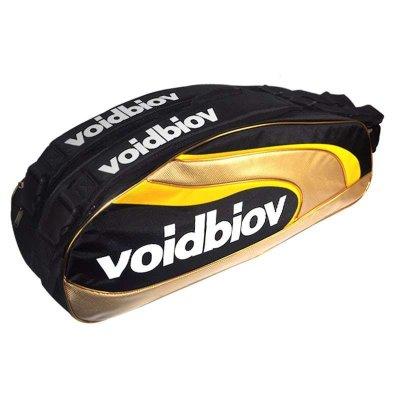 voidbiov羽毛球包双肩背包6支装男女单双肩网球拍袋