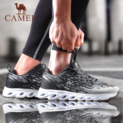 CAMEL骆驼户外运动鞋 2019新款男款柔软减震防滑耐磨运动跑步鞋